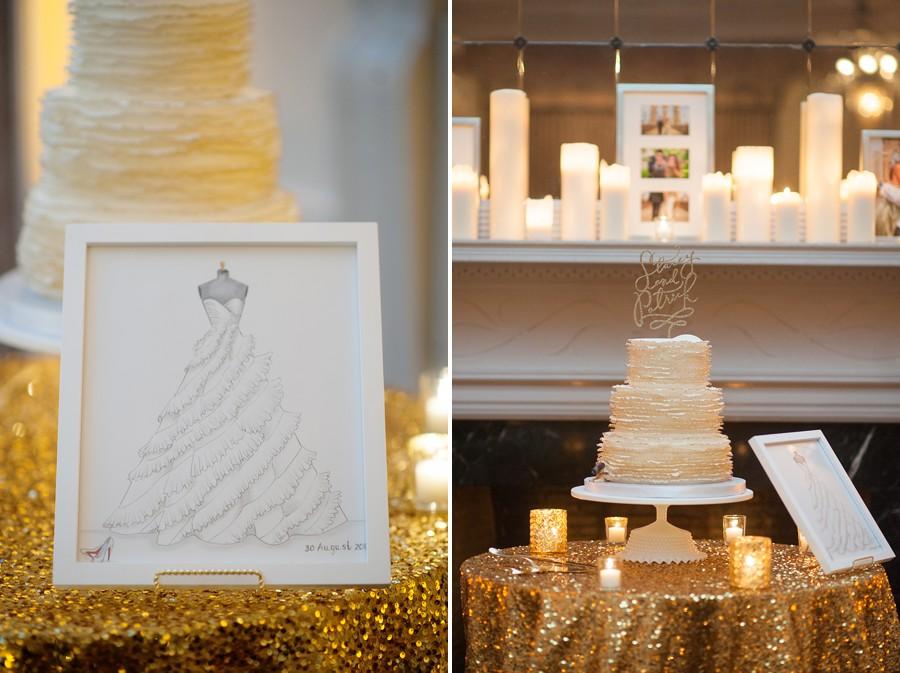 Wedding Lighting | New Haven Lawn Club Wedding 8